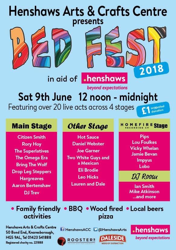 Bed Fest Poster